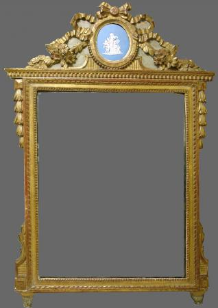 Miroir poque louis xvi for Venus au miroir